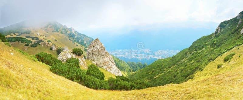 Transylvanien, Sinaia, Rumänien lizenzfreies stockbild