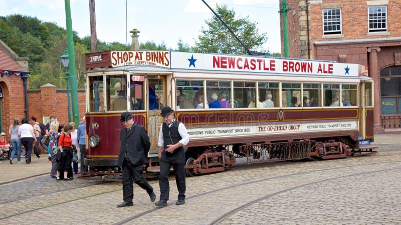 Tranvía Beamish fotografía de archivo