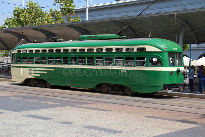 Tranvía de San Francisco fotos de archivo