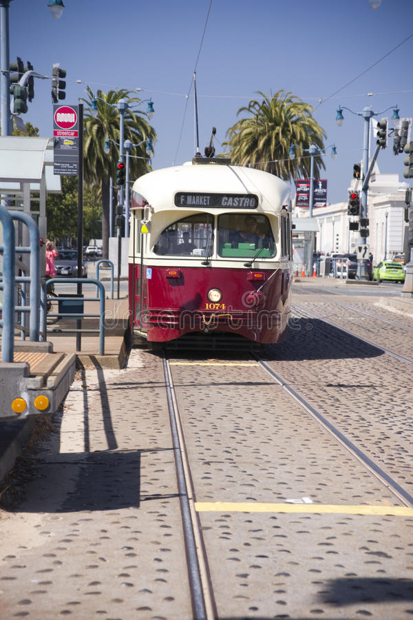 Tranvía de San Francisco fotografía de archivo
