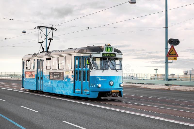 Tranvía en Gothenburg, Suecia fotos de archivo libres de regalías