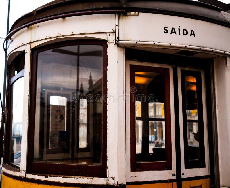 Tranvía en Lisboa fotos de archivo libres de regalías