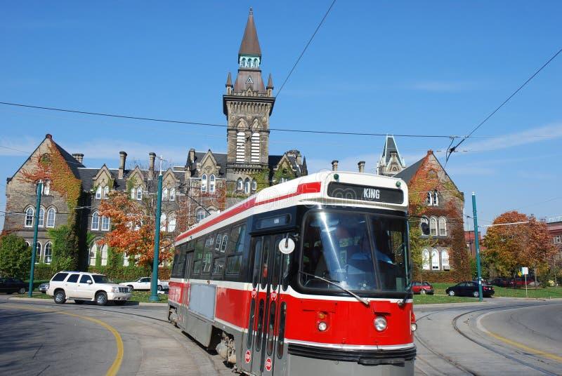 Tranvía en Toronto imagenes de archivo