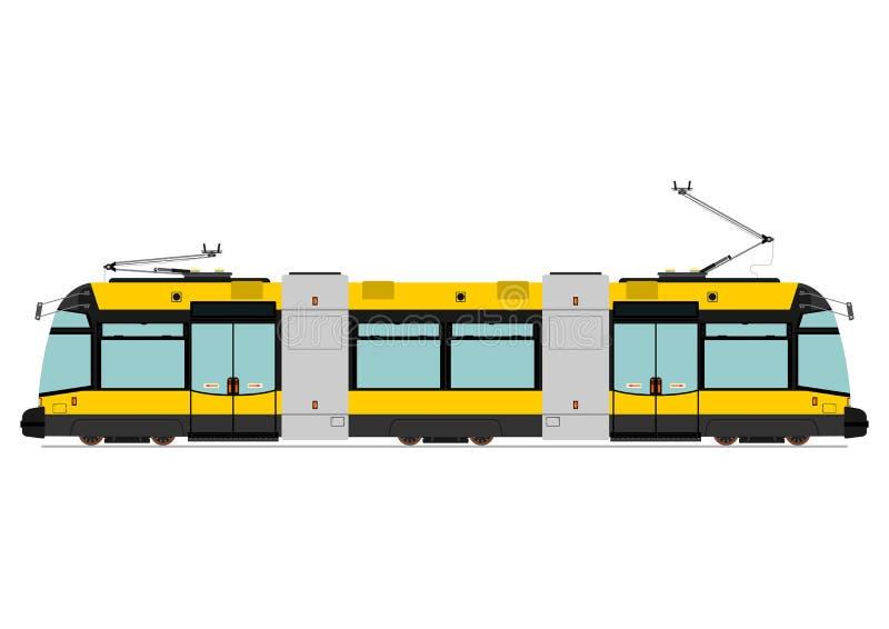 Tranvía moderna ilustración del vector