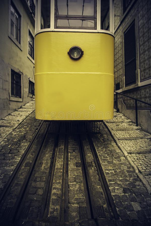 Tranv?a t?pica de Lisboa imagen de archivo