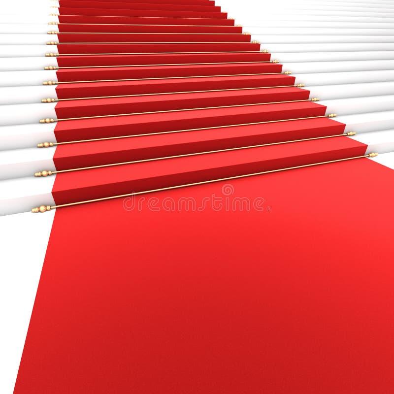 Trap aan Bekendheid vector illustratie