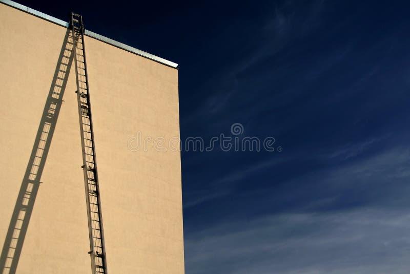 Trap aan hemel stock foto's