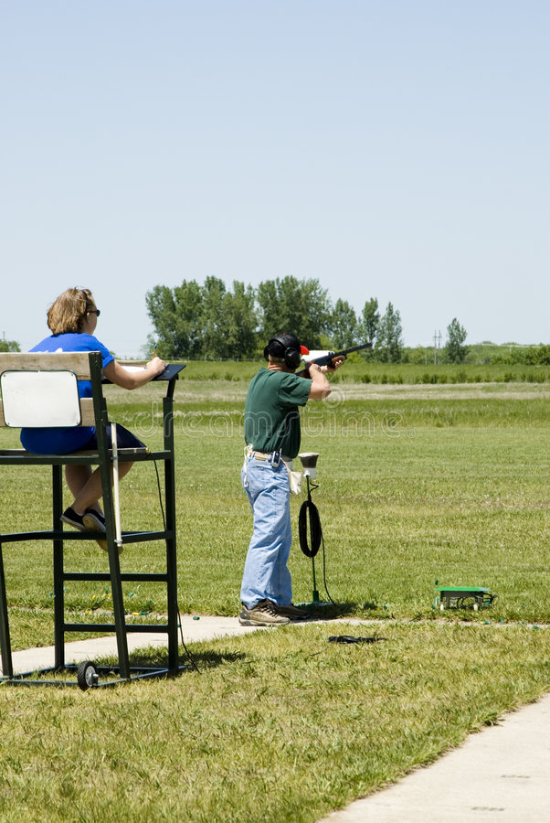 Free Trap Shooting Royalty Free Stock Photo - 2504165