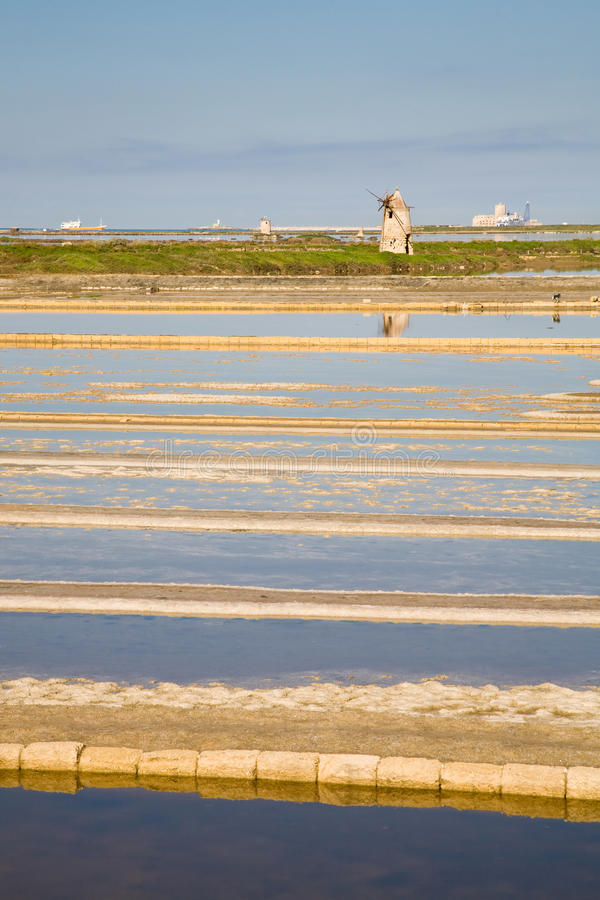 Download Trapani stock photo. Image of ponds, basin, italia, water - 12454556