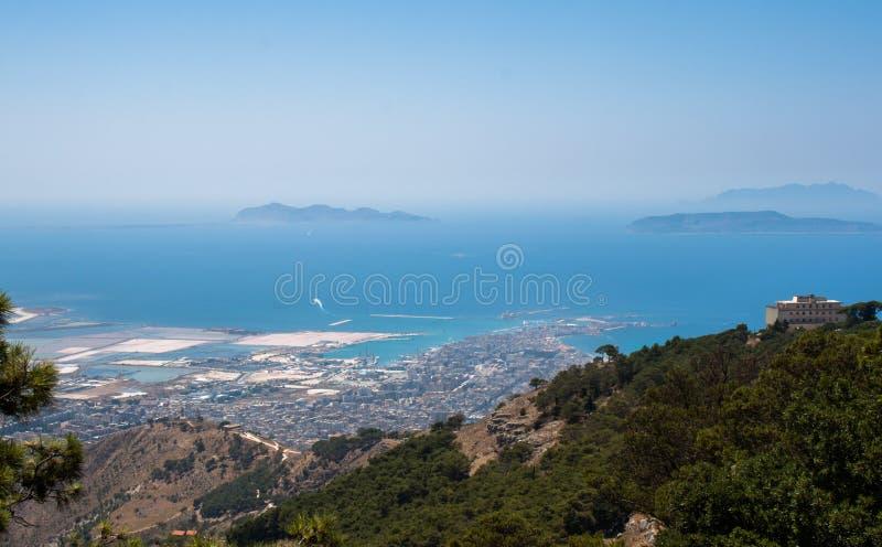 Download Trapani. Egadi islands. stock image. Image of above, horizontal - 33420569