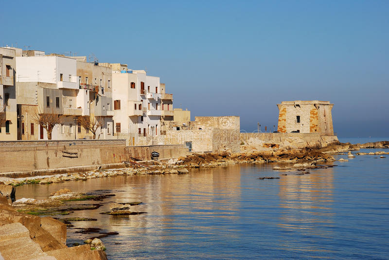 Download Trapani (Ligny Tower) Stock Photography - Image: 24164482