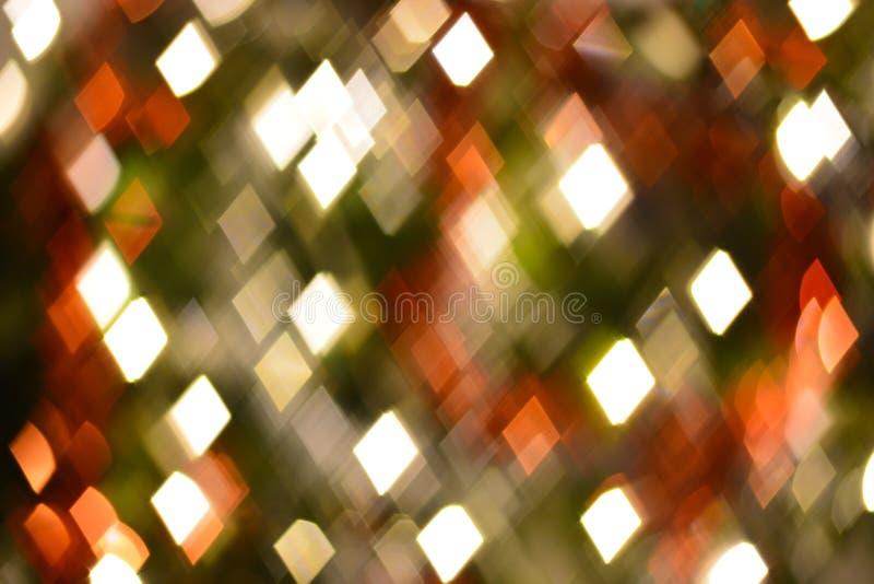 Trapezoide abstracto, bokeh de la forma del diamante para el fondo fotos de archivo libres de regalías