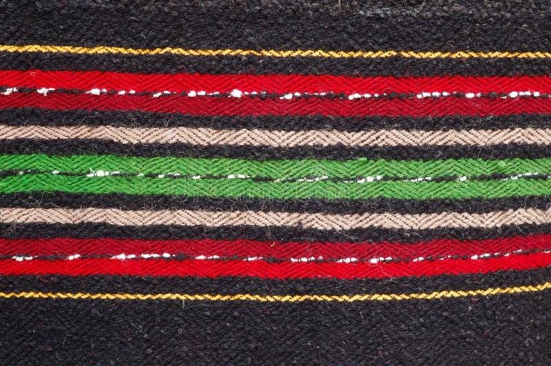 Trapo-alfombras hechas a mano búlgaras imagen de archivo