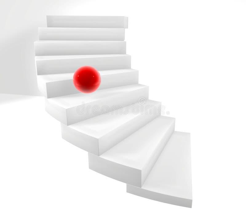 trappa 3d vektor illustrationer