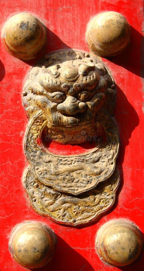 Trappe d'entrée chinoise photos stock