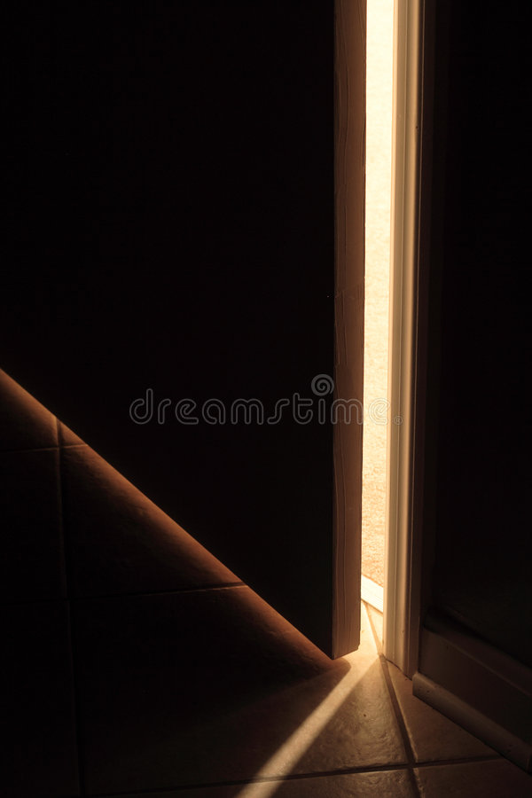 Trappe d'ouverture photographie stock