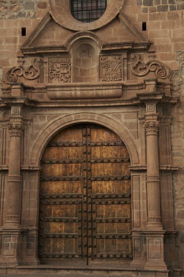 Trappe de cathédrale photo libre de droits