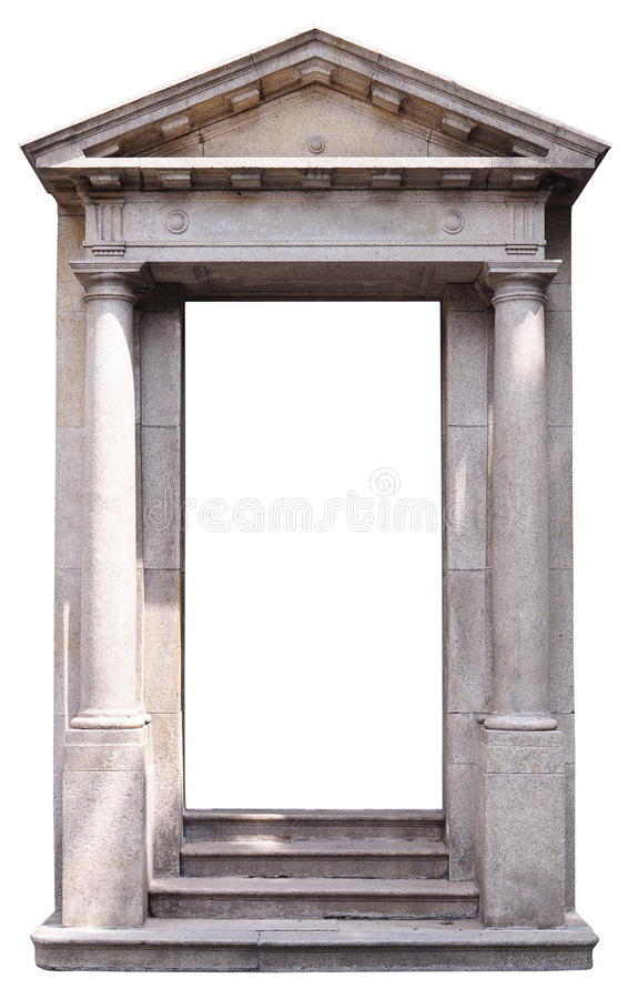 trappe de Romain-type images stock