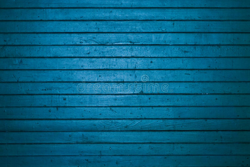 Trappe en bois bleue de fret photo libre de droits