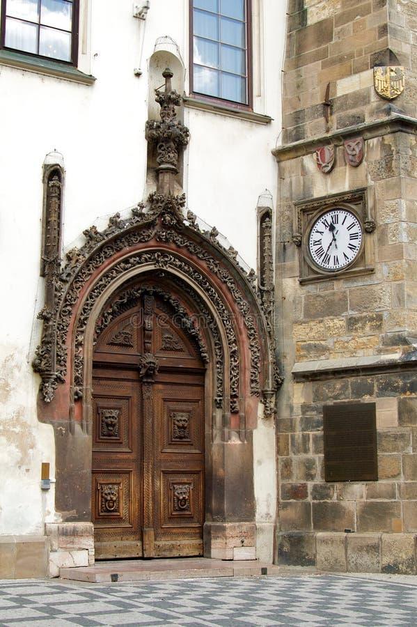 Trappe gothique photo libre de droits