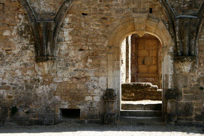 Trappe gothique 6 photo libre de droits