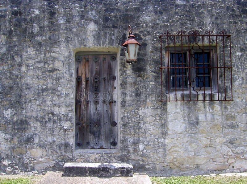 Trappe latérale de forteresse photographie stock