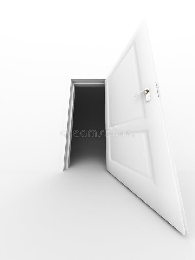 Trappe ouverte illustration libre de droits