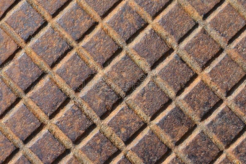 Trappe rouillée de texture photo libre de droits