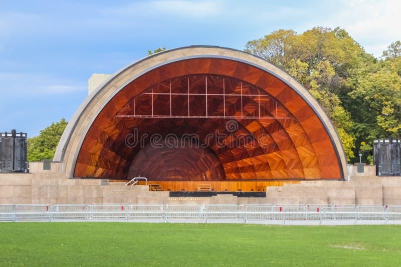 Trappe Shell commémoratif à Boston, le Massachusetts images libres de droits