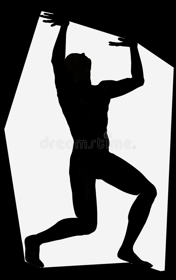 Trapped stock photography