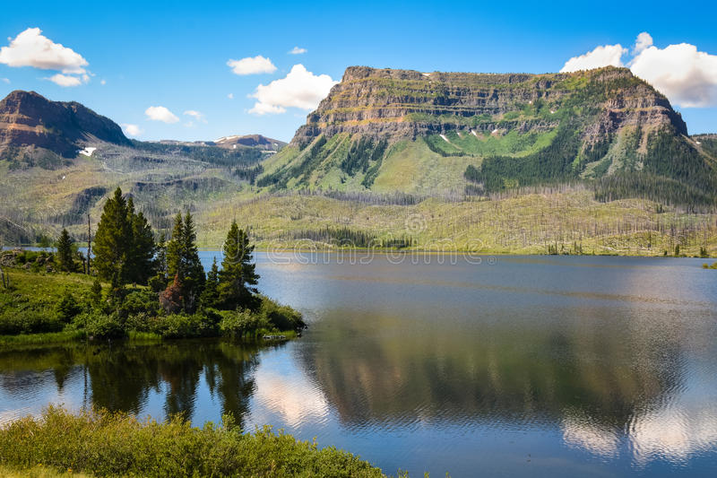 Trappers Lake In The Flattops, Colorado royalty free stock photos