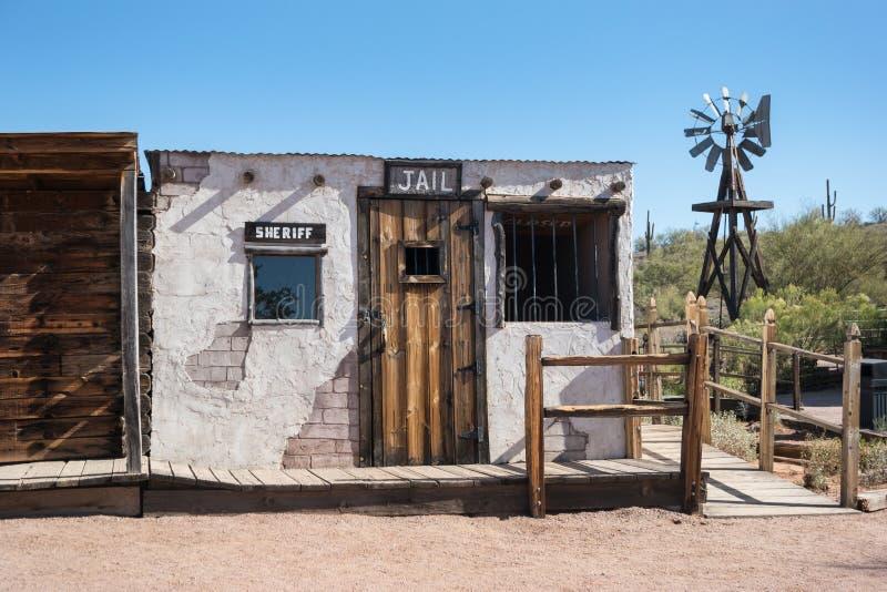 Trappola, prigione ed ufficio turistici degli sceriffi immagine stock