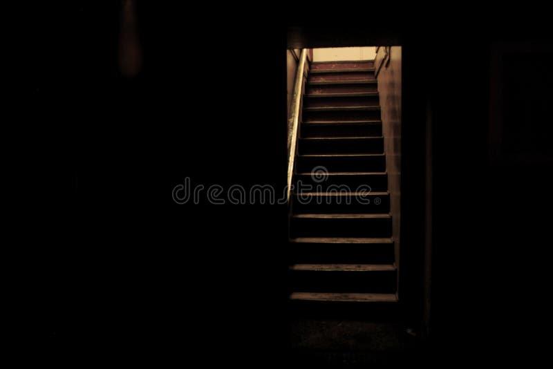 trappuppgång fotografering för bildbyråer