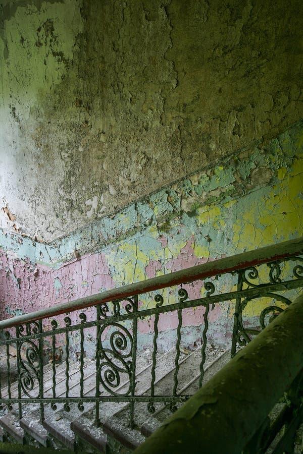 trappuppgång royaltyfri bild