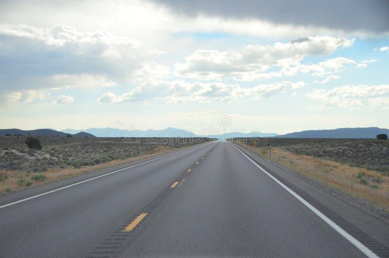 Trasa 50, Ginąca autostrada Nevada, Lipiec 2015 fotografia royalty free