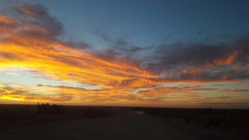 Trasa mój Patagonia fotografia stock