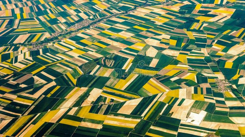 Trascuratezza dei campi fuori di Parigi fotografia stock