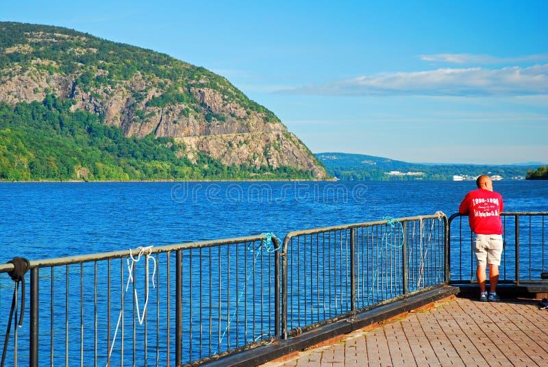 Trascuratezza del Hudson River fotografia stock