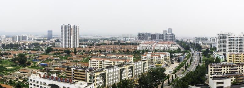 Trascuratezza della città di Rizhao fotografie stock libere da diritti