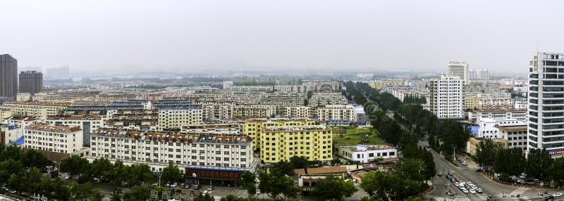 Trascuratezza della città di Rizhao immagine stock