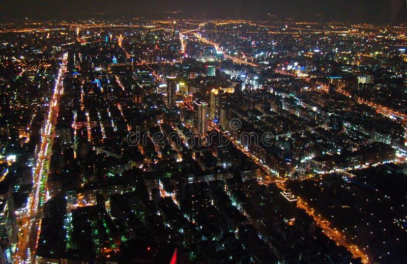 Trascuri Taipei immagine stock