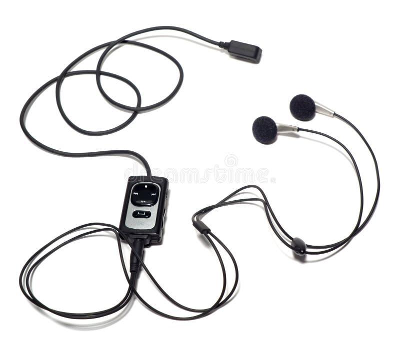 Trasduttori auricolari per un telefono mobile fotografie stock libere da diritti