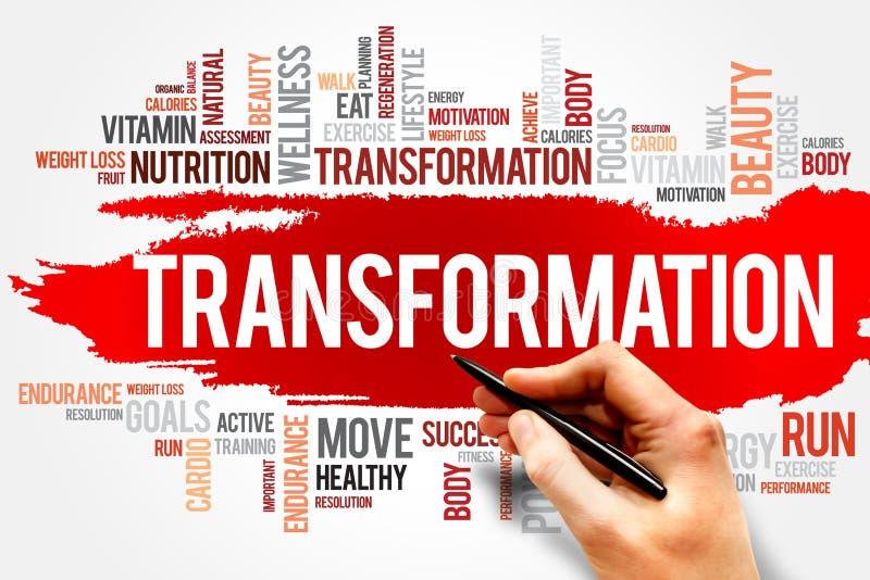 trasformazione fotografia stock