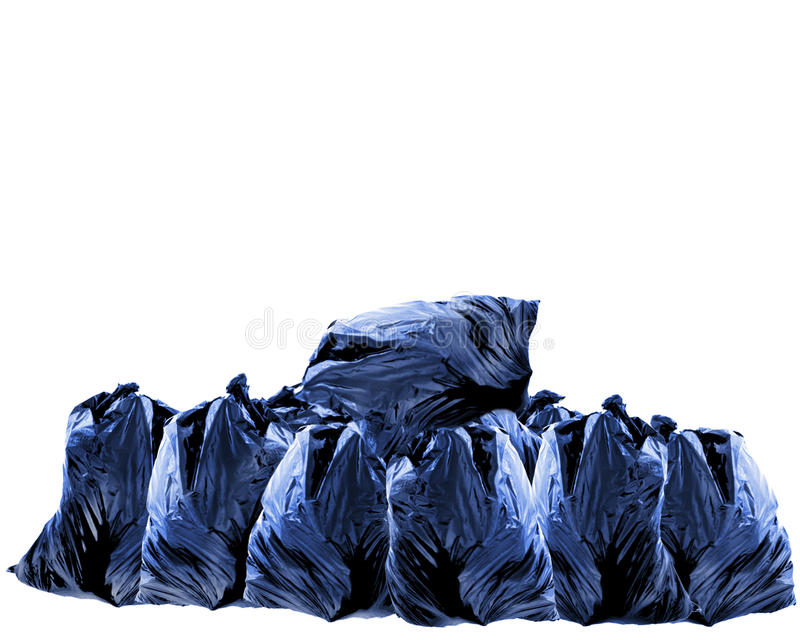Download Trash bags stock photo. Image of world, isolated, concept - 24438200