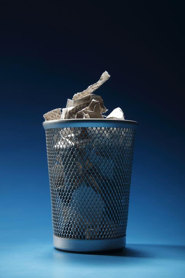 Download Trash bin stock image. Image of clear, metal, office - 14486707