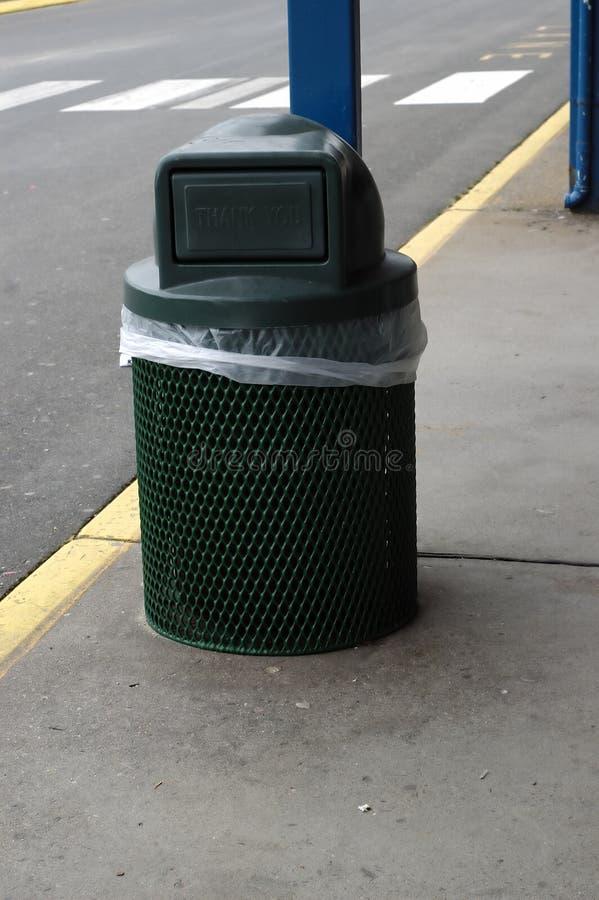 Trash Can royalty free stock photos