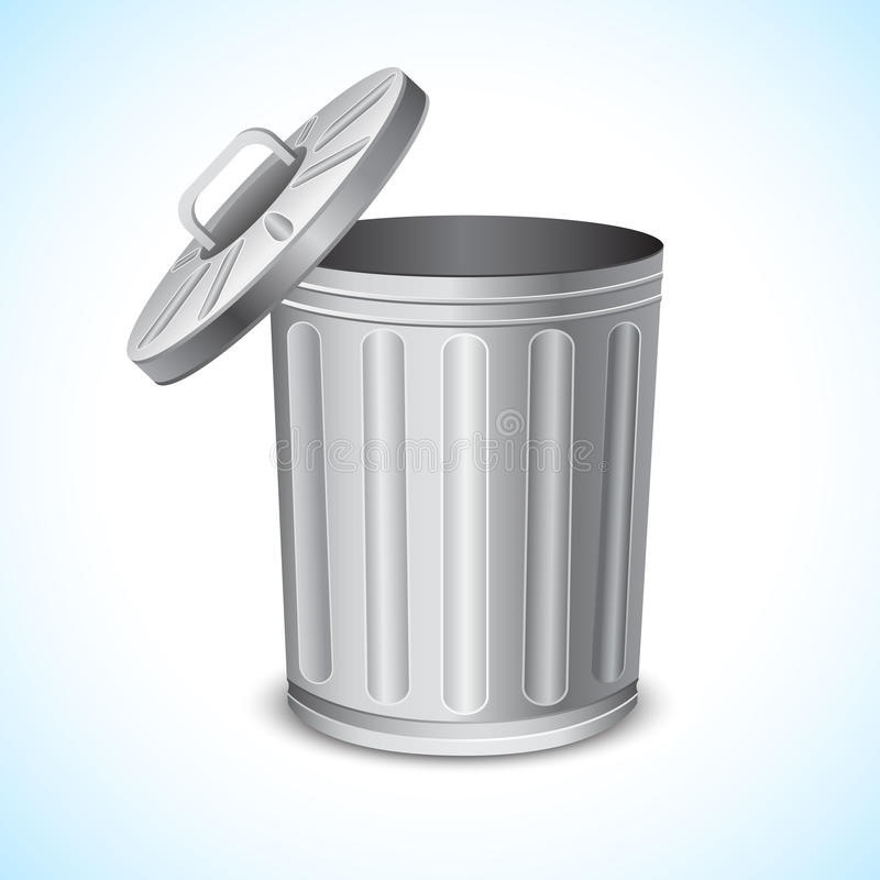Free Trash Can Royalty Free Stock Photography - 19315377