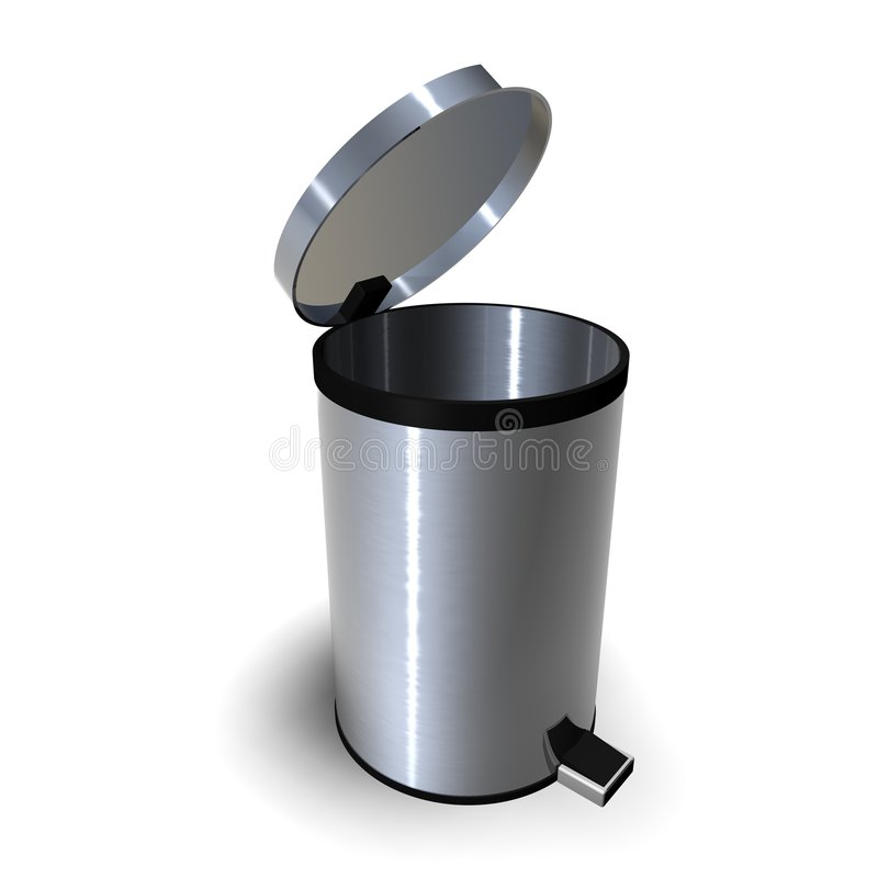 Free Trash Can Royalty Free Stock Photos - 237528