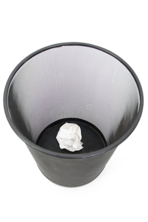 Trash Can stock photography