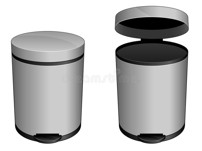 Trash Can Icon EPS vector illustration